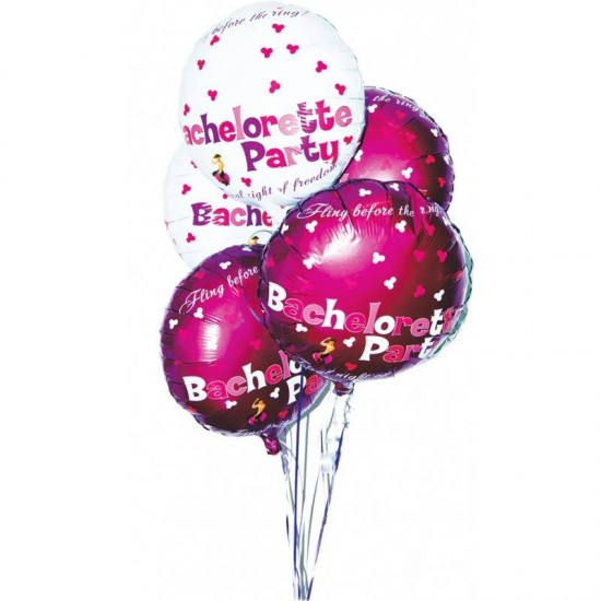 Hott Products Bachelorette Party Mylar Balloons WHILE STOCK LASTS