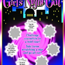 Ozze Creations Girls Night Out Scratch Ticket