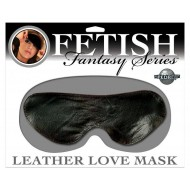Pipedream Products Leather Love Mask