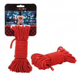 California Exotics Scandal BDSM Rope 10m Red
