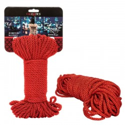 California Exotics Scandal BDSM Rope 30m Red