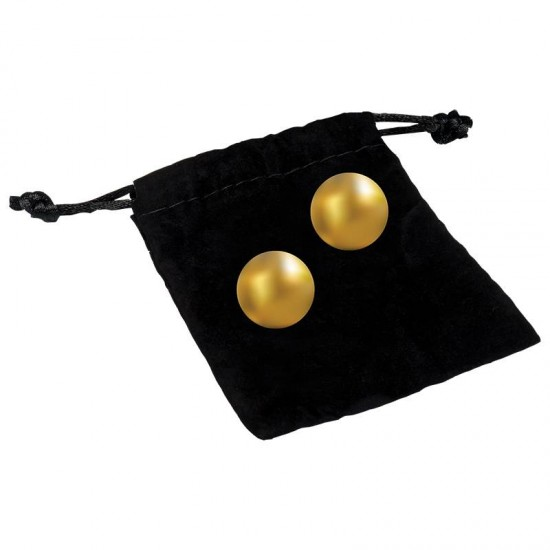 Classic Erotica Oh K Pleasure Balls 24K Gold Plated