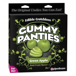Pipedream Products Edible Crotchless Gummy Panties Apple