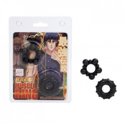 Anime Muscle Rings Black