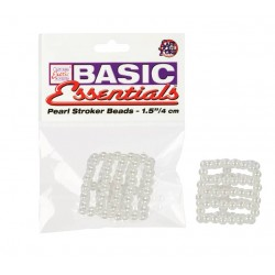 Basic Essentials – Pearl Stroker Beads – 5 Rings – 1.5 Inches
