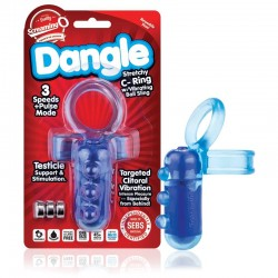 Screaming O Dangle C-Ring Blue WHILE STOCK LASTS