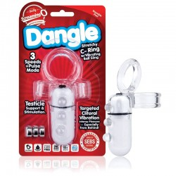Screaming O Dangle C-Ring Clear WHILE STOCK LASTS