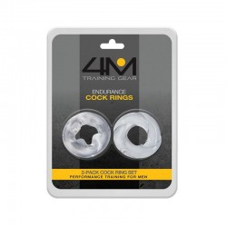 Topco Sales 4M Endurance Cock Rings 2 Pack