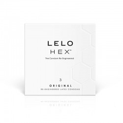 Lelo Hex Condoms 3 Pack NO FURTHER DISCOUNTS APPLY