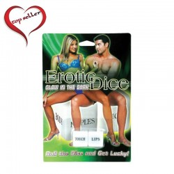 Pipedream Products Foreplay Glow Dice Game