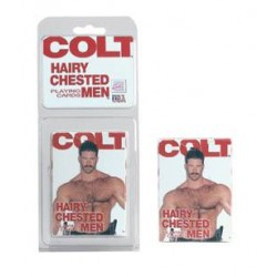 Colt – Hairy Chested Men Playing Cards – Per Deck