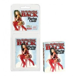 My Baby Got Back Playing Cards – Each Deck