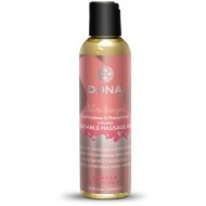 System JO Dona Kissable Massage Oil 3.75 oz Vanilla Buttercream