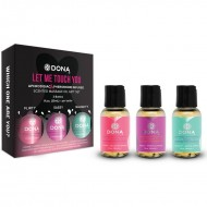 System JO Dona Let Me Touch You Massage Set Scented