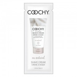Classic Erotica 15 ml Coochy Shave Cream Au Natural Foil