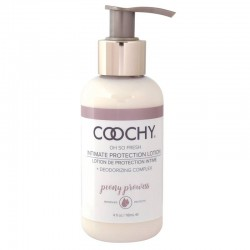 Classic Erotica 4 oz Coochy Intimate Protection Lotion Peony Prowess