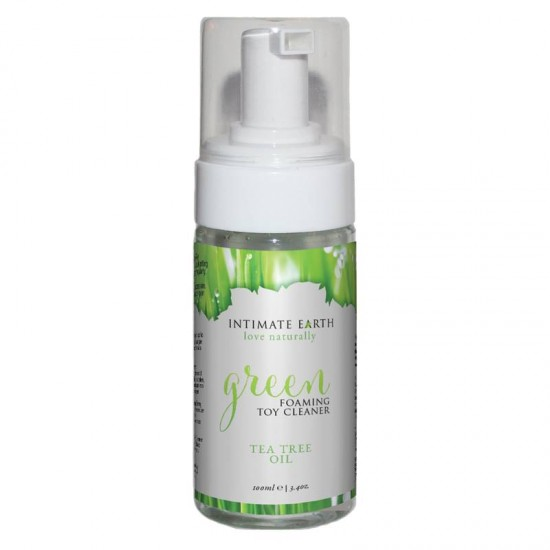 Intimate Earth 100 ml Green Foaming Toy Cleaner