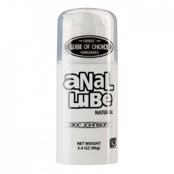 Doc Johnson 3.4 oz Airless Pump Anal Lube Natural