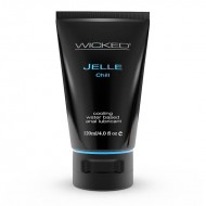 Wicked Sensual Care 4 oz Jelle Anal Lube Chill
