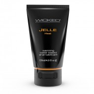 Wicked Sensual Care 4 oz Jelle Anal Lube Heat