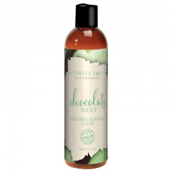 Intimate Earth 60 ml Flavored Lubricant Chocolate Mint