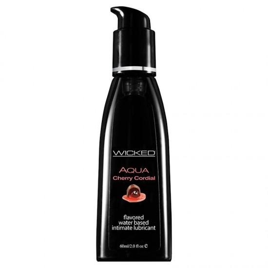 Wicked Sensual Care 2 oz Flavored Lube Cherry Corial