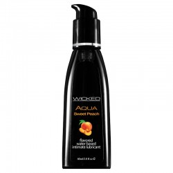 Wicked Sensual Care 2 oz Flavored Lube Sweet Peach