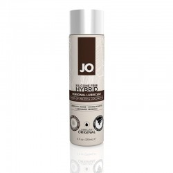System JO 4 oz. JO Silicone Free Hybrid Lube with Coconut Oil Original