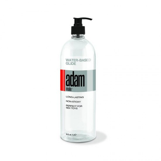 Topco Sales 34 oz Adam Male Water-Based Glide