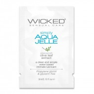 Wicked Sensual Care 3 ml Simply Aqua Jelle Packette