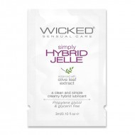 Wicked Sensual Care 3 ml Simply Hybrid Jelle Packette