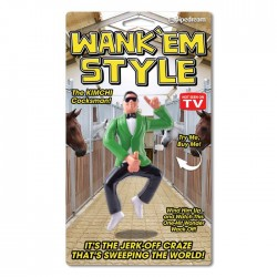 Pipedream Products Wank 'Em Style Wind-Up Toy