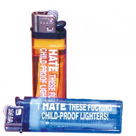 Pipedream Products I Hate This Childproof Lighter Each