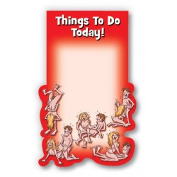Ozze Creations Self- Sticky Note Pad Thing's To Do Today