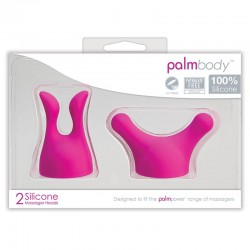 BMS Factory Palm Body Attachments 2 Silicone Heads